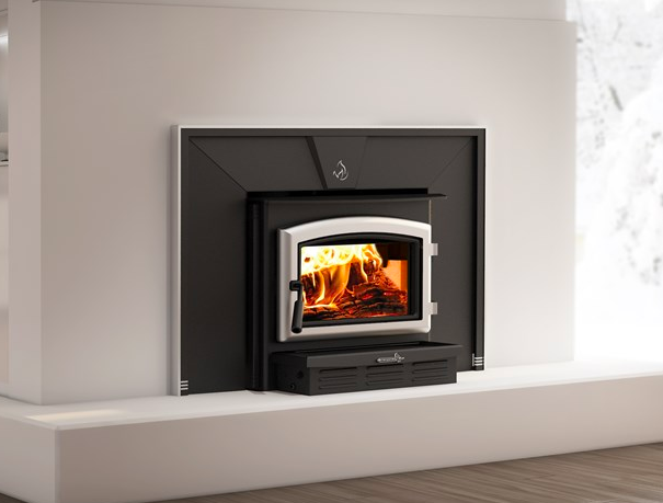 The Solution 2.3-I wood burning insert is designed to be utilized in an existing full masonry fir ...