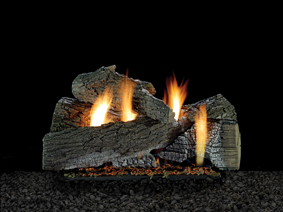 empire white mountain wildwood vent free gas logs