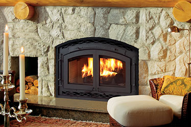 High Efficiency Hybrid Woodburning Fireplaces
