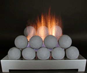 fire ball balls contemporary vent free