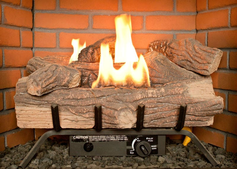 Vented Gas Logs: Heater or Decorative?