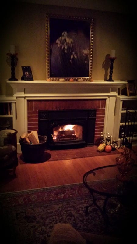 With winter months approaching its almost fireplace season! But don
